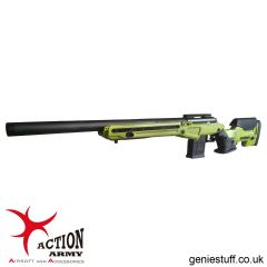 Action Army AAC T10 Airsoft Sniper Rifle 2-Tone